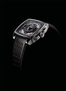 Steve McQueen watch : Monaco Mikrograph