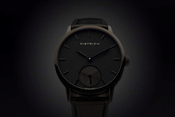 Night : elegant watch by DIETRICH
